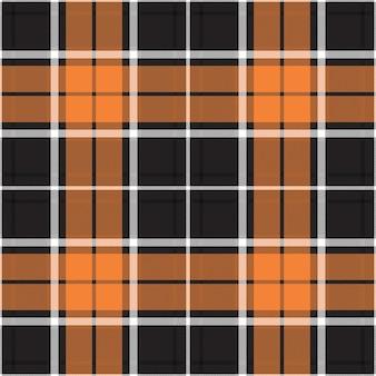 Motif à carreaux sans couture. vérifiez la texture du tissu. fond carré rayé. conception textile de vecteur de tartan.