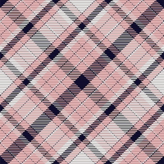 Motif à carreaux sans couture. vérifiez la texture du tissu. fond carré rayé. tartan de conception textile de vecteur.