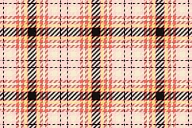 Motif à carreaux sans soudure. vérifiez la texture du tissu. fond carré rayé. conception textile de vecteur. toile de fond tartan.