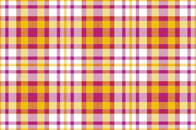 Motif à carreaux sans soudure. vérifiez la texture du tissu. fond carré rayé. conception textile de vecteur.