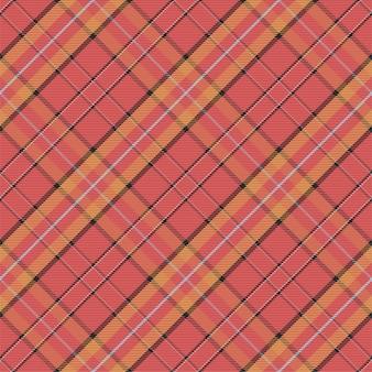 Motif à carreaux sans soudure. vérifiez la texture du tissu. fond carré rayé. tartan de conception textile de vecteur