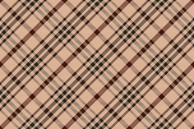 Motif à carreaux sans soudure. vérifiez la texture du tissu. fond carré rayé. tartan de conception textile de vecteur.