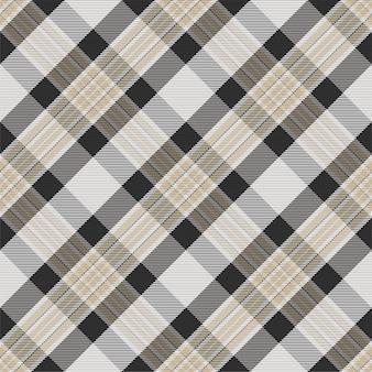 Motif à carreaux sans soudure. vérifiez la texture du tissu. fond carré rayé.
