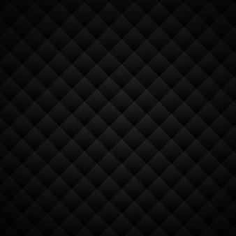 Motif de carrés géométriques abstraits noirs