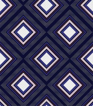 Motif de carrés géométriques