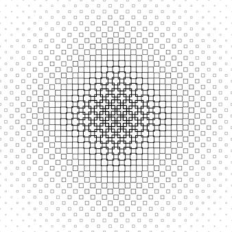 Motif des carrés noirs