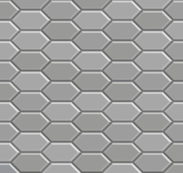 Motif de chemin de pierre de brique 3d