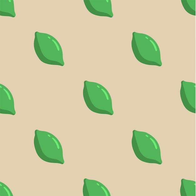 Motif citron fond médias sociaux post fruits illustration vectorielle