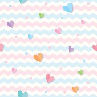 Motif de coeur