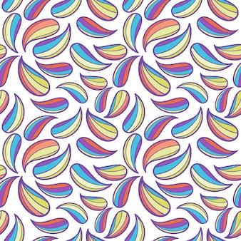 Motif coloré abstrait