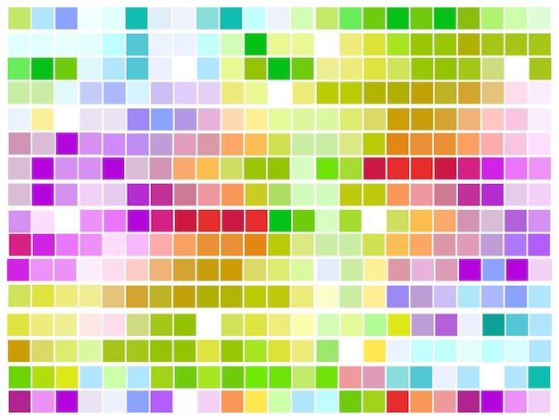 Motif coloré mosaïque coloré