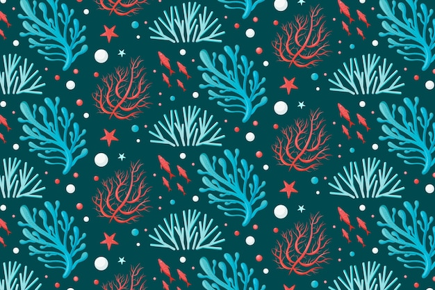 Motif corail