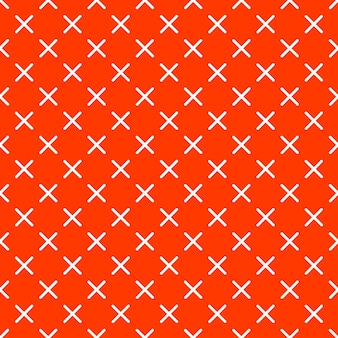 Motif de croix dans le style rétro des années 80 et 90. abstrait géométrique