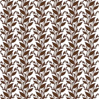Motif des croquis de fleurs, de brunchs et de feuilles. bordure de fleurs des champs. contexte