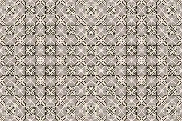 Motif décoratif sans soudure, fond de mosaïque