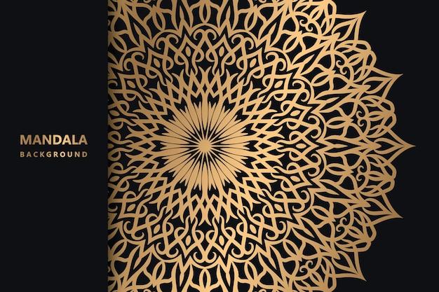 Motif de décoration de mandala