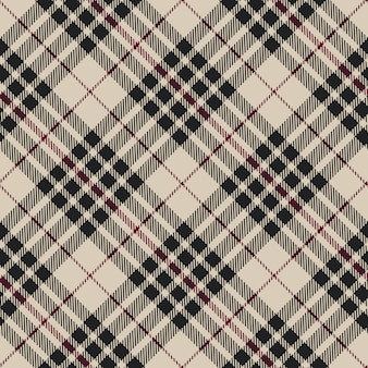 Motif diagonal sans soudure de tartan blackberry