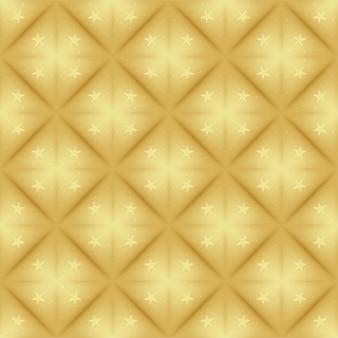 Motif de diamant d'or
