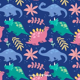 Motif de dinosaures