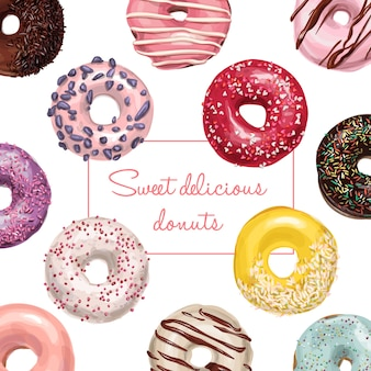 Motif donut