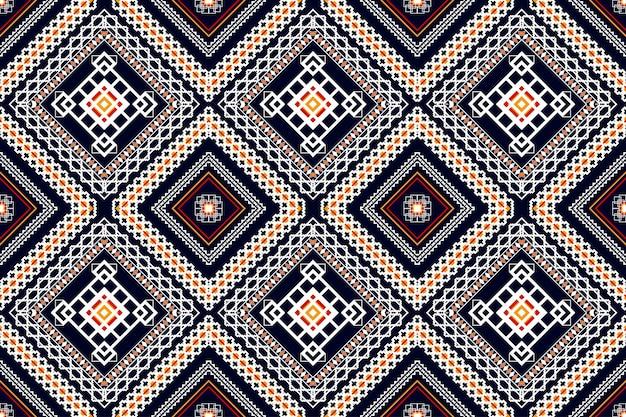 Motif ethnique géométrique oriental. modèle sans couture