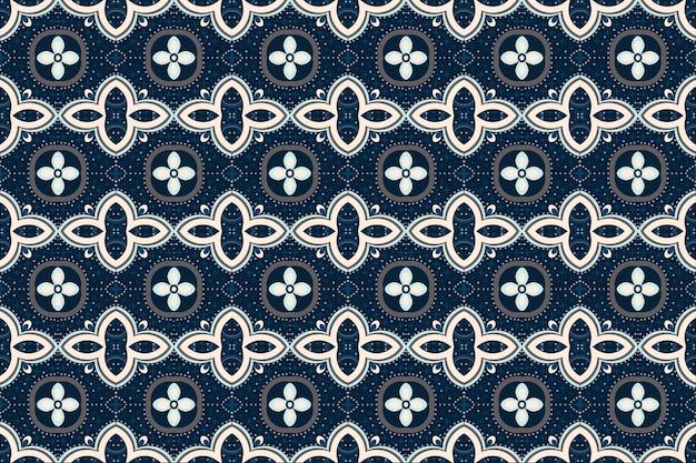 Motif Ethnique Géométrique Oriental. Modèle Sans Couture. Vecteur Premium
