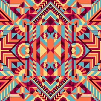 Motif ethnique géométrique