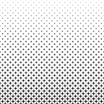 Motif d'étoile blanc noir - graphique d'arrière-plan