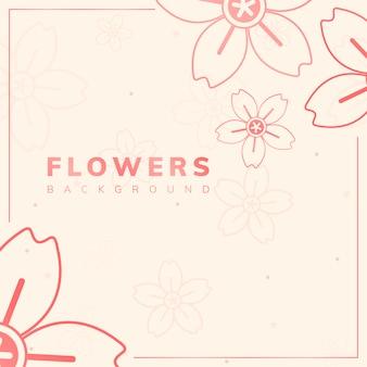 Motif de fleur d'oranger
