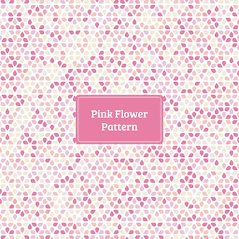 Motif de fleur rose