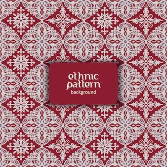 Motif de fleurs le motif indonésien batik est une technique de teinture à la cire appliquée sur un tissu entier