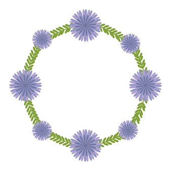 Motif de fleurs.