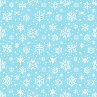 Motif de flocons de neige. sans couture .