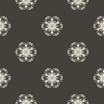 Motif floral abstrait pour fond d'été ou de printemps. illustration de style créatif et rétro
