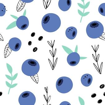 Motif floral abstrait sans soudure. dessinées à la main, plantes de style doodle pour l'emballage, les textiles et autres motifs.