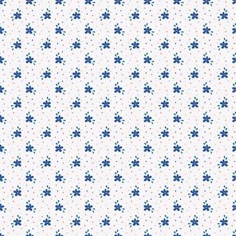 Motif floral dans les couleurs blanc, bleu et orange. fond transparent avec de petites fleurs dessinées à la main.