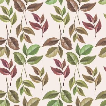 Motif floral sans couture pour la mode