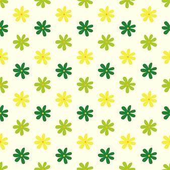 Motif floral sans soudure, illustration vectorielle