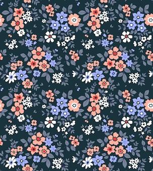 Motif floral sans soudure à la mode
