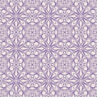 Motif floral violet
