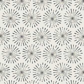 Motif de flore abstraite pour la conception