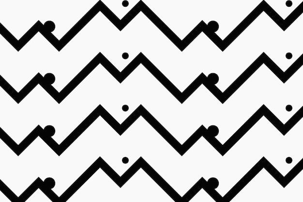 Motif de fond chevron, zigzag blanc, vecteur de conception simple