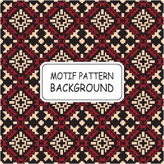 Motif de fond décoratif sans couture avec motif