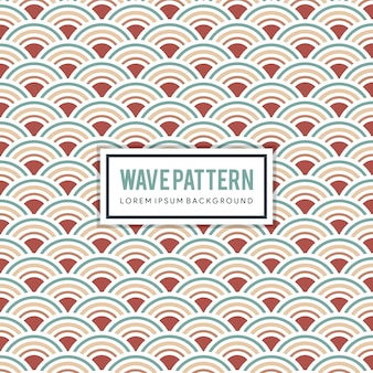 Motif et fond japonais. texture de la courbe de l'eau. éléments de la vague.