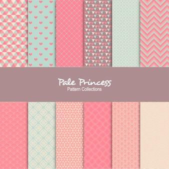 Motif de fond princesse pâle
