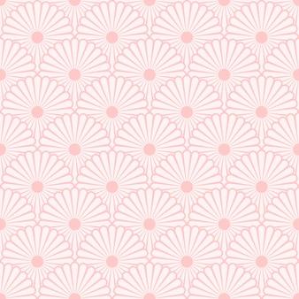 Motif de fond sans soudure floral abstrait couleurs pastel colorées.