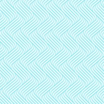 Motif de fond de vague bleue.