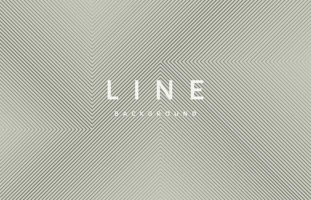 Motif de forme carrée géométrique abstraite ligne noire sur fond gris