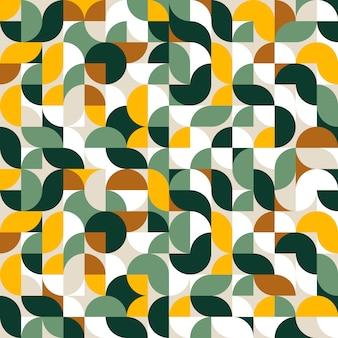 Motif de forme géométrique abstraite