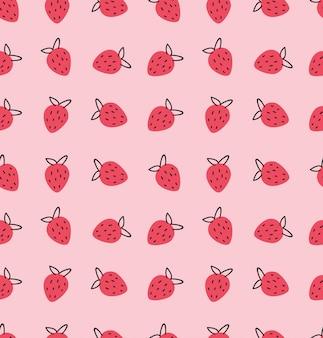 Motif fraises